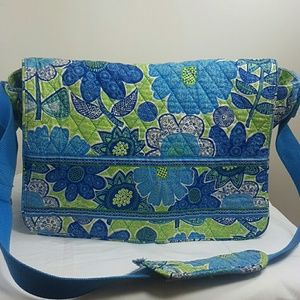 Cute Vera Bradley Book Bag messenger bag